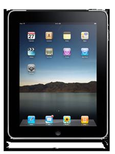 iPad kan laddas med solcellsladdare